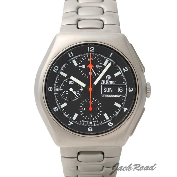 チュチマ TUTIMA ミリタリー クロノグラフ T 760-02 新品 時計 メンズ