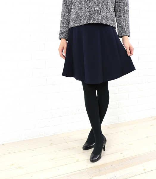ドレスアプト(Dress apt.)トリアセテート フレア スカート・10516-1991502【レディース】
