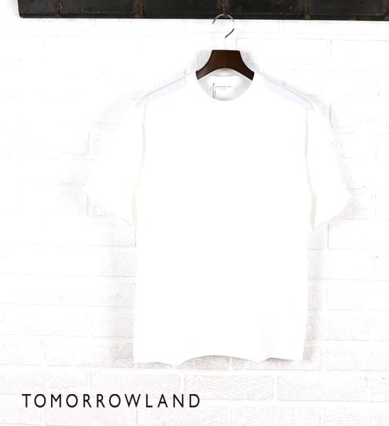 トゥモローランド(TOMORROWLAND)コットン 半袖 クルーネック Tシャツ・63-11-42-11204-0171501【メンズ】