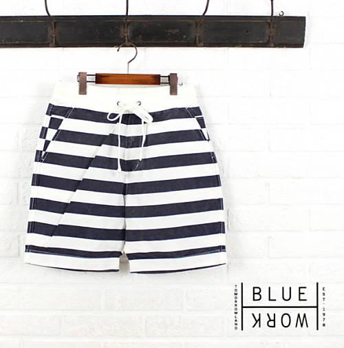 ブルーワーク(Blue Work)コットンナイロン ショートパンツ・54-12-52-12103-0171501【メンズ】