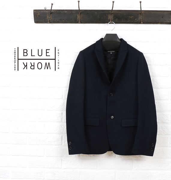 ブルーワーク(Blue Work)ウール JERSEY ジャケット・54-08-64-08212-0171602【メンズ】