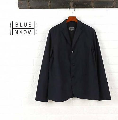 ブルーワーク(Blue Work)ポリエステルレーヨン ワークジャケット・54-08-62-08101-0171601【メンズ】