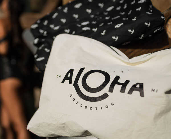 "Collection of Aloha (ALOHA collection) Tyvek-proof drop processing ALOHA travel mini pouch ""S ORIGINAL"" / 5058011-3251601 [M flight 2/5]"