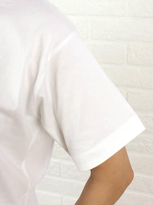 μNic(Munich)棉布短袖针脚刺绣T恤、MN161U20-2321601[M班次5/5]