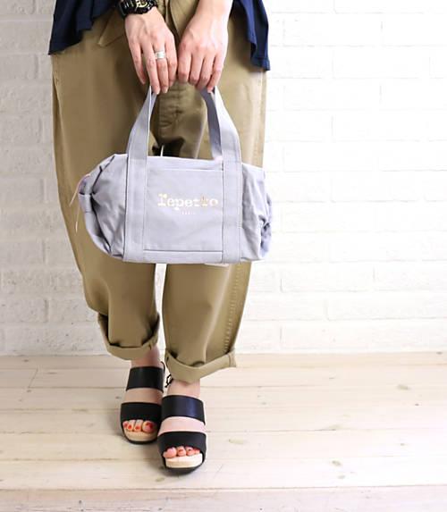 Repetto Cotton Mini Duffle Bag Handbag Small Glide B 0231t 0061601