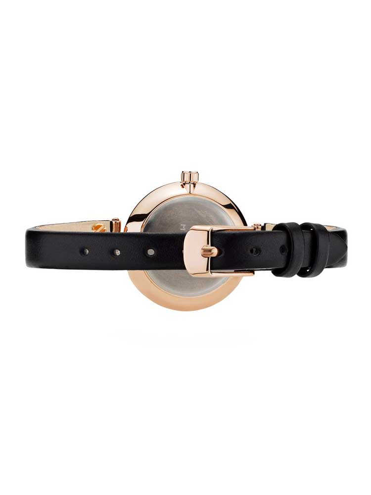 Mochberg (MOCYBERG) 女士手表手表皮革皮带圆 28 mm 格丽珀蒂-1401年-3731602