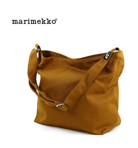 マリメッコ(marimekko)コットンキャンバス ショルダーバック・5263137630-0061602【メンズ】【レディース】【JP】
