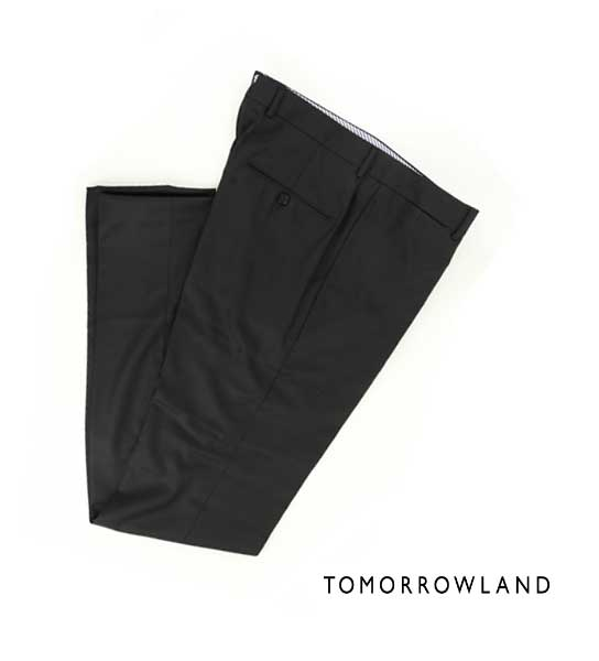 トゥモローランド(TOMORROWLAND)ウール スリム スラックス パンツ・61-04-64-04101-0171602【メンズ】