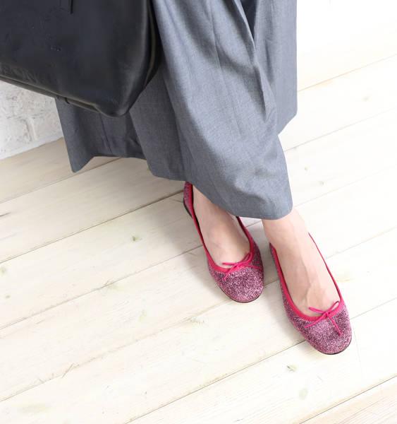 レペット (repetto) lam ballet shoes Cendrillon Ballerina Lurex, VX086LX 0061702