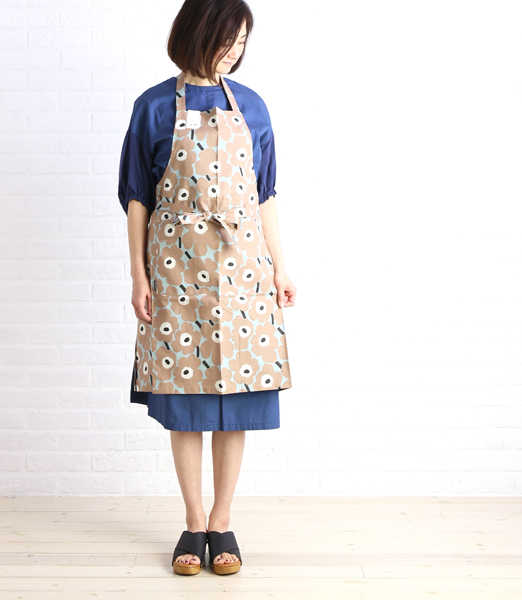 マリメッコ (marimekko) Japan-limited ウニッコエプロン .52179468580-0061701 [M service 5/5]