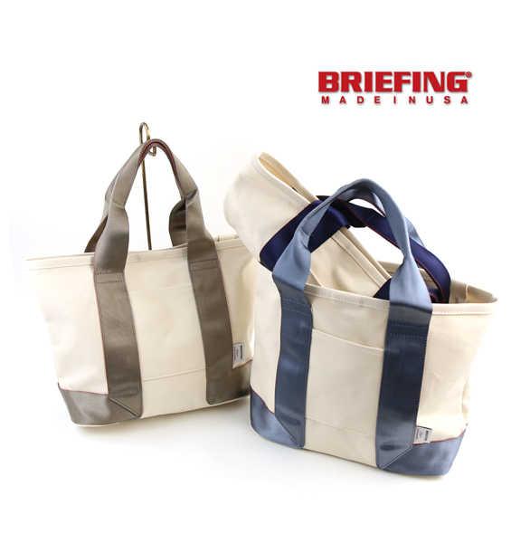 ブリーフィング(BRIEFING)キャンバス トートバッグ M・BRL443219-2771701【メンズ】【レディース】【JP】