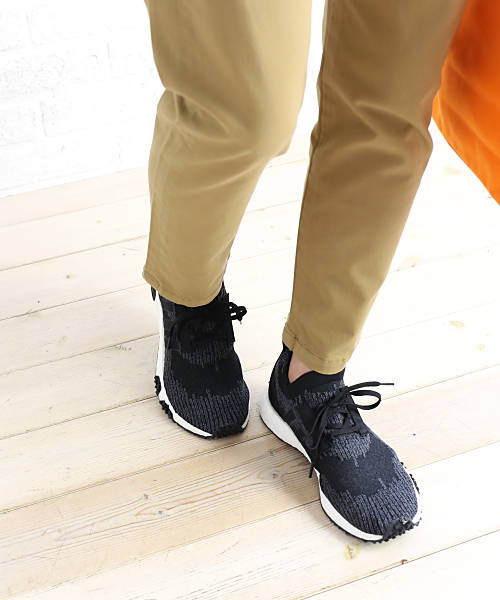 super popular bf1eb 4562f Adidas (adidas) knit X レザーソックライクレースアップスニーカー NMD RACER PK, AQ0949-0121802