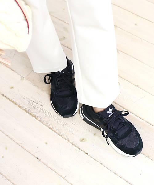 アディダス(adidas)オリジナルス スエード×メッシュ スニーカー ゼットエックス ZX 500 RM・B42227-0121802【レディース】【E-2】【■■】