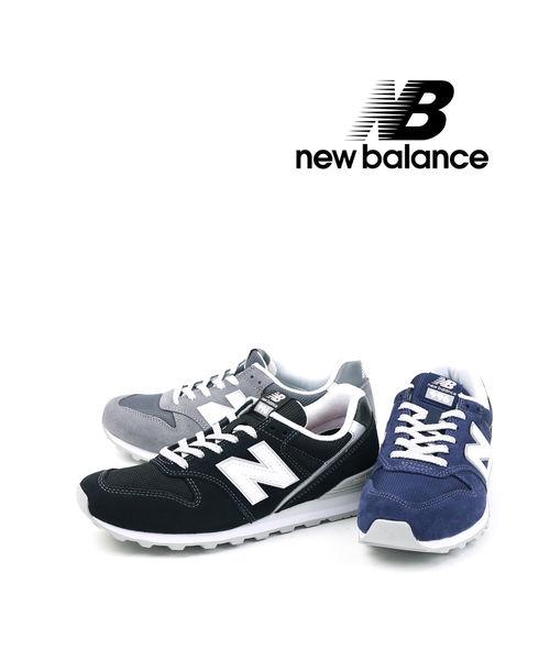 ニューバランス(new balance)スエード メッシュ スニーカー ランニングシューズ WL996・WL996-2531902【レディース】【■■】