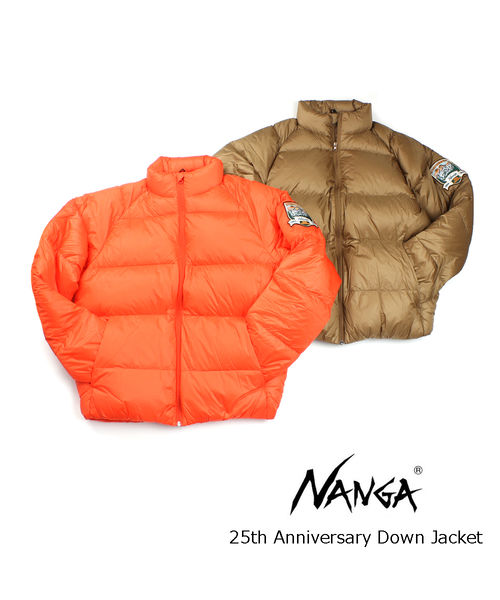 ナンガ(NANGA)メンズ ハイネック ダウンジャケット 25周年記念ジャケット 25th Anniversary Down Jacket・25TH-DOWNJK-4421902【メンズ】【■■】