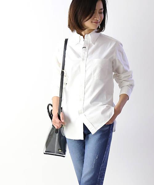 リムホーム(Lim Home)コットン オックスフォード スマートシャツ オーバーサイズシャツ・LH-B108-3301901【メンズ】【レディース】【■■】