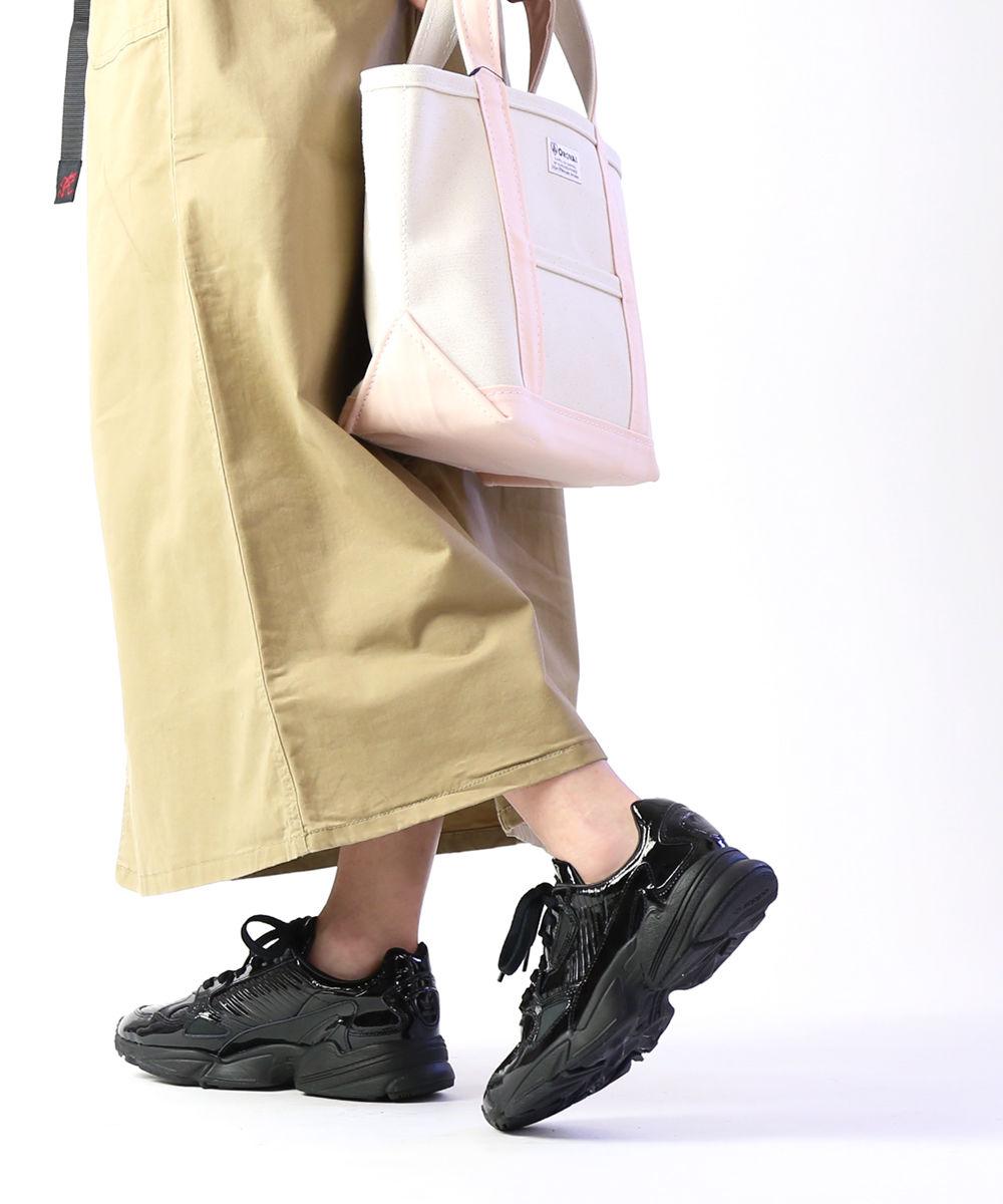 アディダス(adidas)オリジナルス パテントレザー スニーカー ダッドシューズ ランニングシューズ ファルコン FALCON W・CG6248-0121901【レディース】【D-4】【■■】