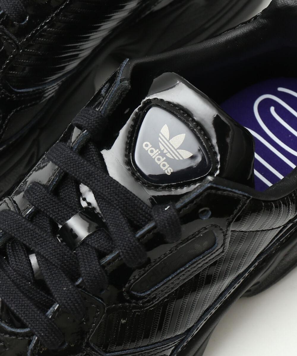new concept 5c50f bb624 Adidas (adidas) オリジナルスパテントレザースニーカーダッドシューズランニングシューズファルコン FALCON W, CG6248 -0121901