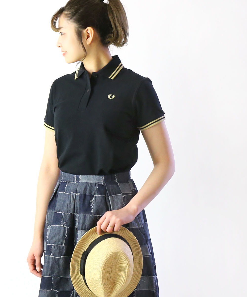 ba142402ee9 JACQUEMART: Fred Perry (FRED PERRY) cotton tip line polo shirt, G12 ...
