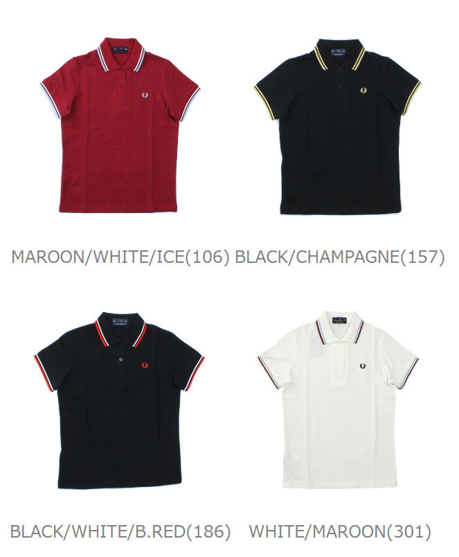 d9841100680 ... Fred Perry (FRED PERRY) cotton tip line polo shirt, G12-3871801 ...