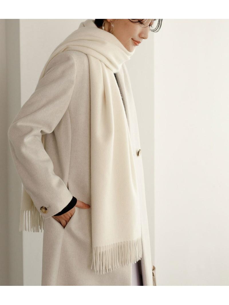 【オープニング 大放出セール】 [Rakuten Fashion]カシミヤストール(無地) ADAM ET ROPE' アダムエロペ ファッショングッズ ストール ホワイト ブラウン パープル【送料無料】, 加悦町 851febdd