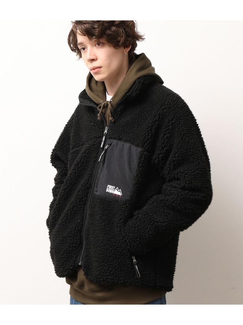 JUNRed ユニセックス 国内即発送 コート ジャケット ジュンレッド Rakuten Fashion FIRST ホワイト ボアブルゾン ブラック ブラウン 送料無料 ブルゾン 宅送 DOWN