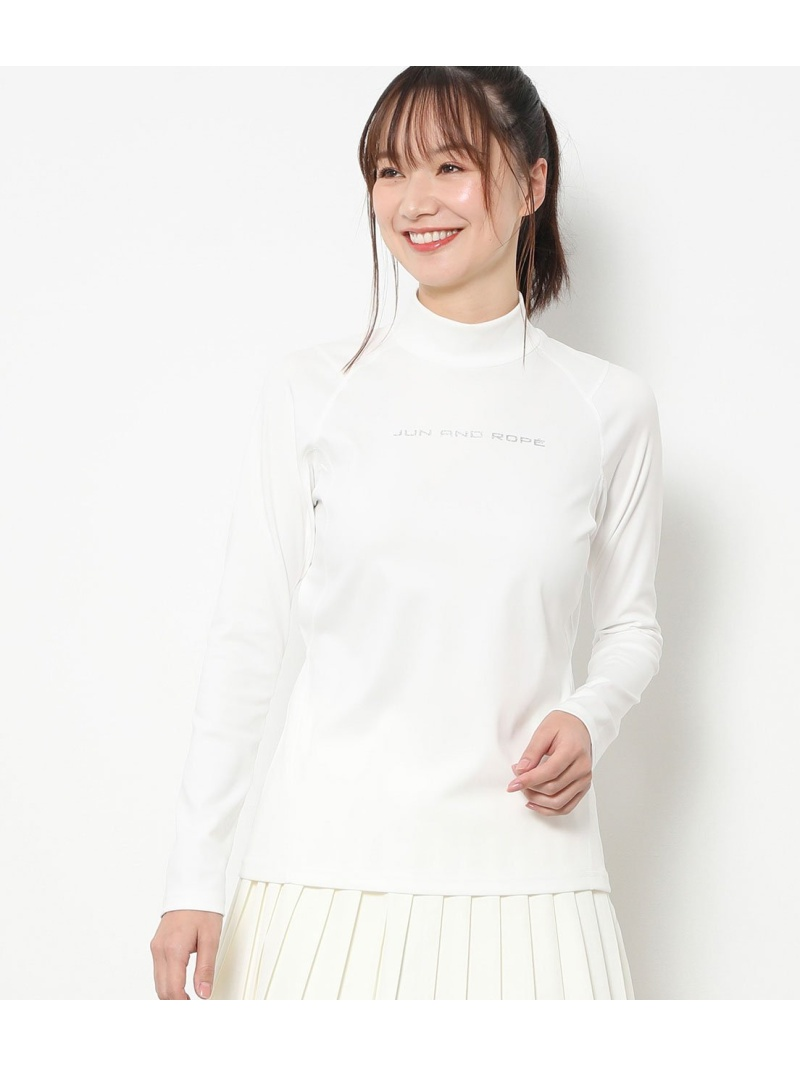 Rakuten FashionSALE 15 OFFUV吸水速乾 ソフトシームモックネックプルオーバー JUN RQdhtrCxs