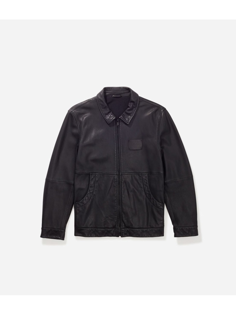 <title>Saturdays NYC メンズ コート ジャケット サタデーズ ニューヨークシティ SATURDAYS Rakuten Fashion Harrington Leather 直営店 Jacket ブルゾン ブラック 送料無料</title>