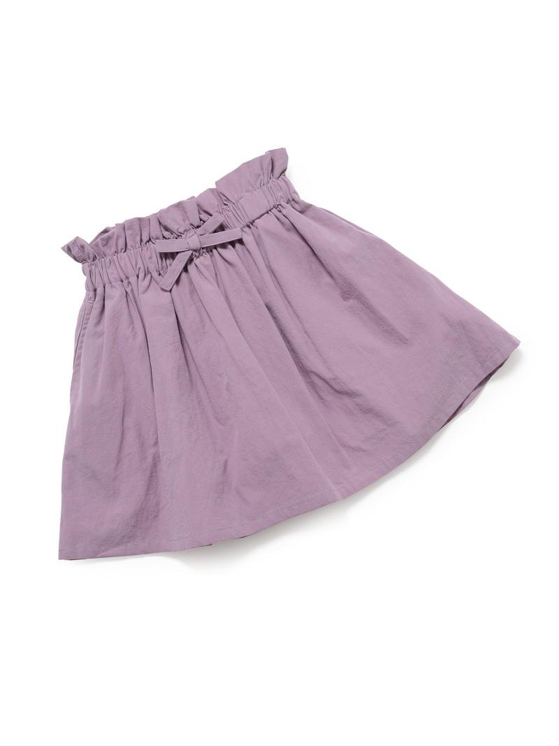 ROPE' PICNIC キッズ スカート 未使用 ロペピクニック SALE 25%OFF KIDS 綿麻ライクギャザースカート Rakuten スカートその他 年間定番 RBA_E Fashion パープル イエロー