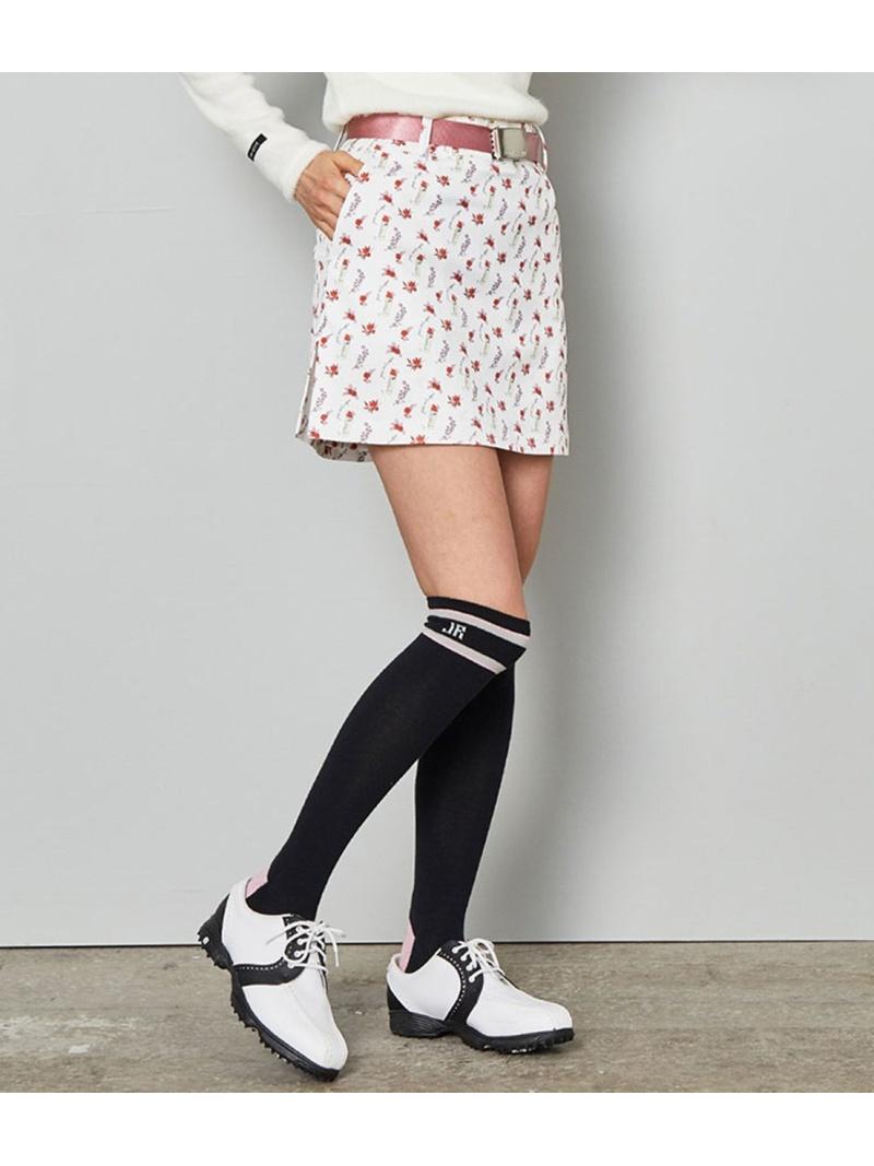 NERGY_newsB_02 JUNROPE' レディース スカート ジュンアンドロペ Rakuten 激安セール Fashion SALE RBA_E ピンク スカートその他 送料無料 専門店 44%OFF ホワイト フローラル柄プリントスカート