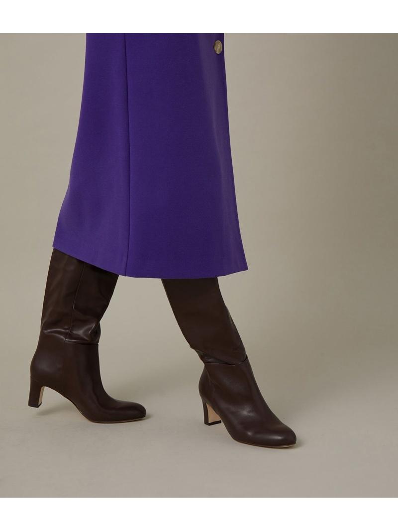 ADAM ET ROPE' レディース シューズ アダムエロペ Rakuten 新品未使用正規品 送料無料 先行予約 業界No.1 Fashion ブーティー ルーズフィットロングブーツ ブラウン ショートブーツ