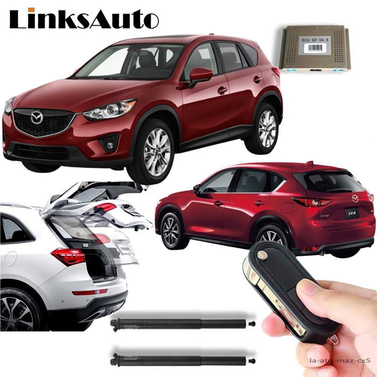 Mazda CX-5 ke LinksAuto 電動パワーバックドアキット パワーゲート スライドドア ダンパー トランク パワーリアゲート オートテールゲート