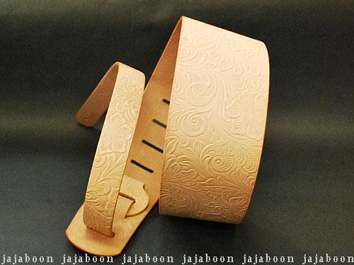 JAJABOON 本革ギターストラップ78mm アラベスク 本革(レザー)製【smtb-m】