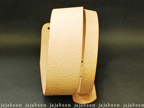 JAJABOON 本革ギターストラップ68mm アラベスク 本革(レザー)製【smtb-m】