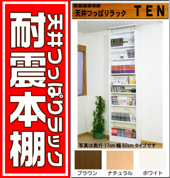 Bookshelf Q Polar Seismic Protection Measures Earthquake Proof Ceiling Rigid Rack TEN Flat Screen 17 Cm 30 Wide Bookcase Unit 10P10Nov13