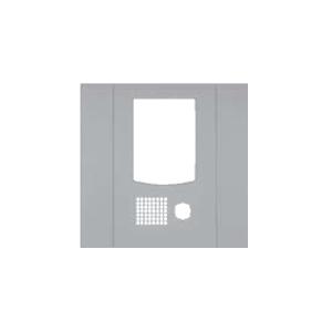 ★受注生産品★【アイホン】DASH WISM カメラ付集合玄関機ユニット用パネル(シルバー)[VHW-3736P-S]