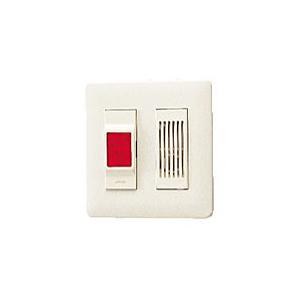 【アイホン】共同玄関用緊急解錠ボタン(樹脂製)[VX-KB27]