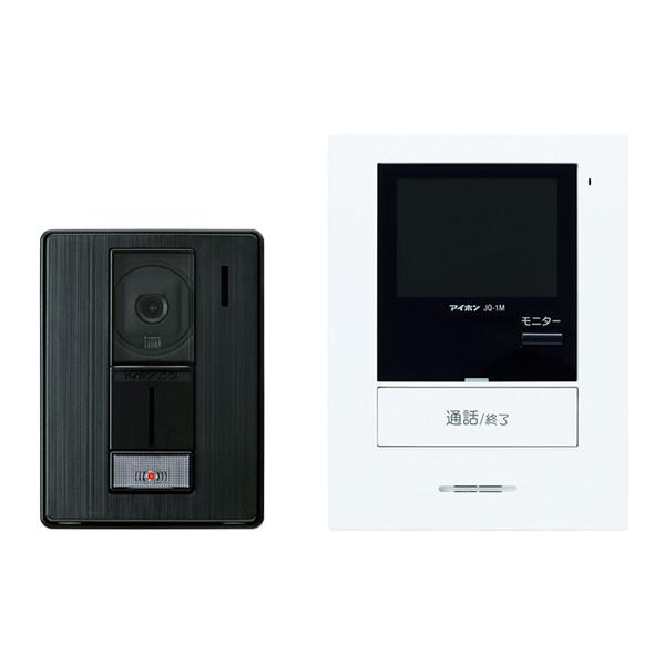 【アイホン】ROCO ハンズフリーテレビドアホンセット(JQ-DAとJQ-1M-T)[JQ-12]