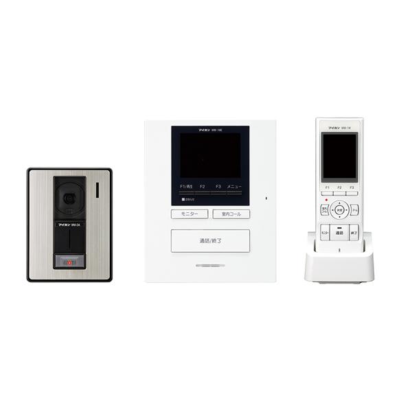 【アイホン】ROCOポータブル テレビドアホンワイヤレスセット 1・4タイプ(AC電源直結式)[WM-14A]