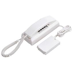 【アイホン】共通線式同時通話インターホンYAZ(3通話路式卓上型親機)[YAZ-90-3AW]