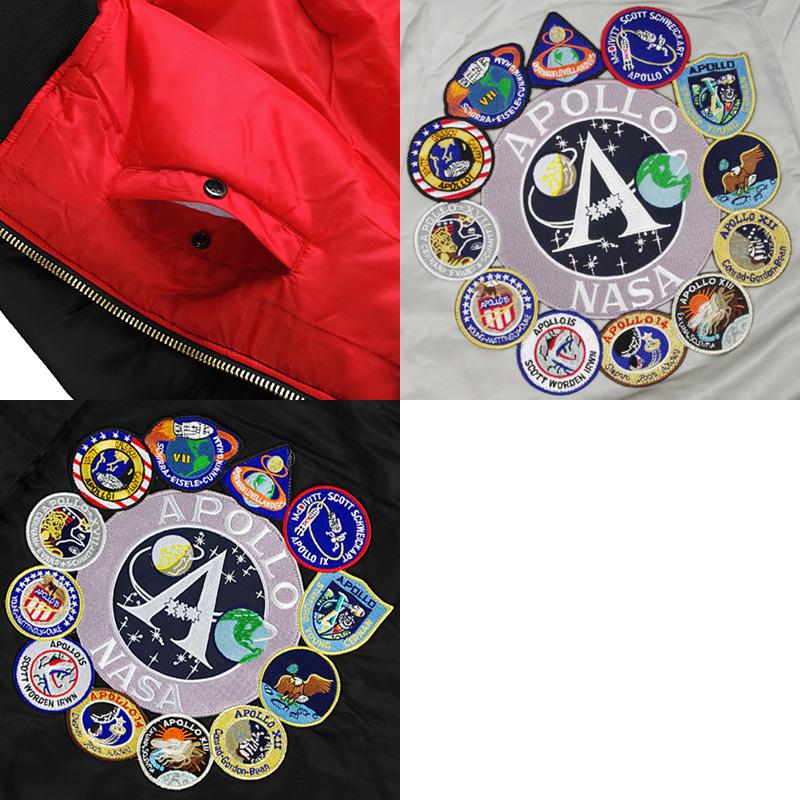 Alpha industry ALPHA Apollo MA-1 flight jacket (APOLLO MA1 INDUSTRIES  FAIR35)