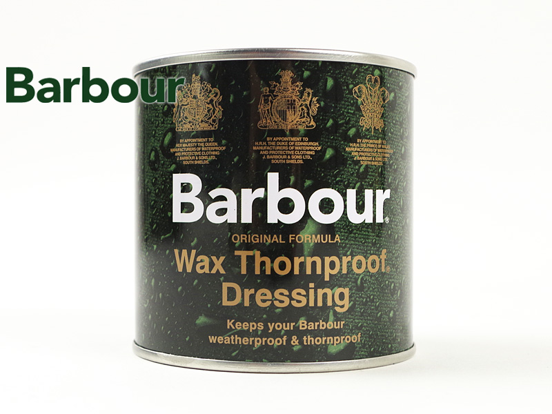 Barber Barbour sound proof dressing (THORNPROOF DRESSING reproof oil wax)