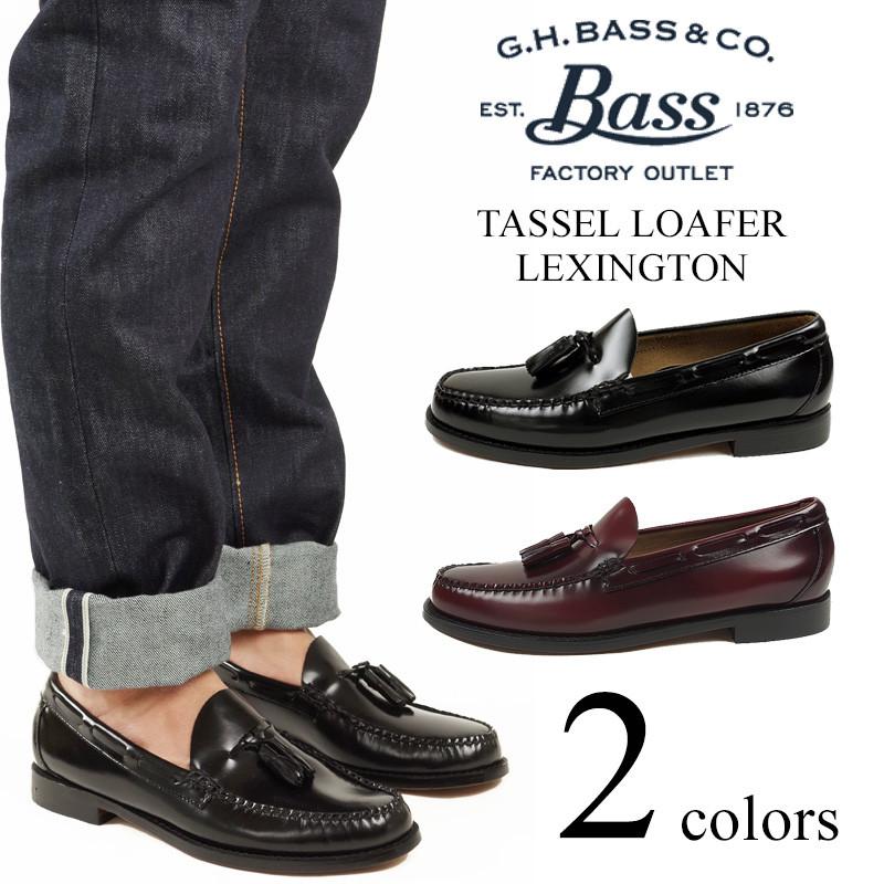 737bdca3f94 Jalana  Bus G.H.BASS Weejuns  tassel loafer Lexington (LEXINGTON ...