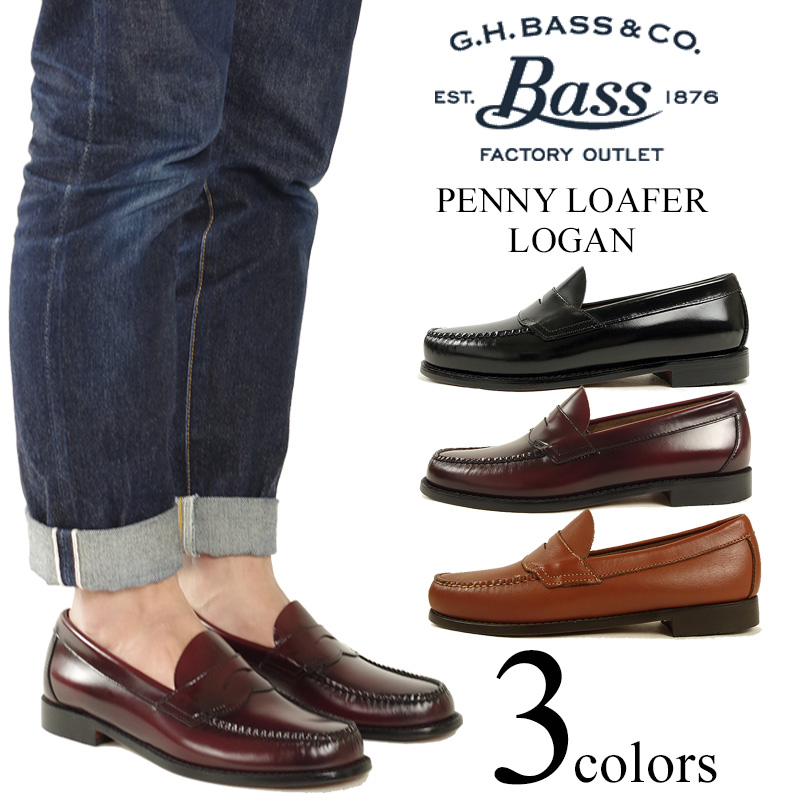 38112b58949 Jalana  Bus G.H.BASS Weejuns   149 penny loafer Logan (LOGAN WEEJUNS ...