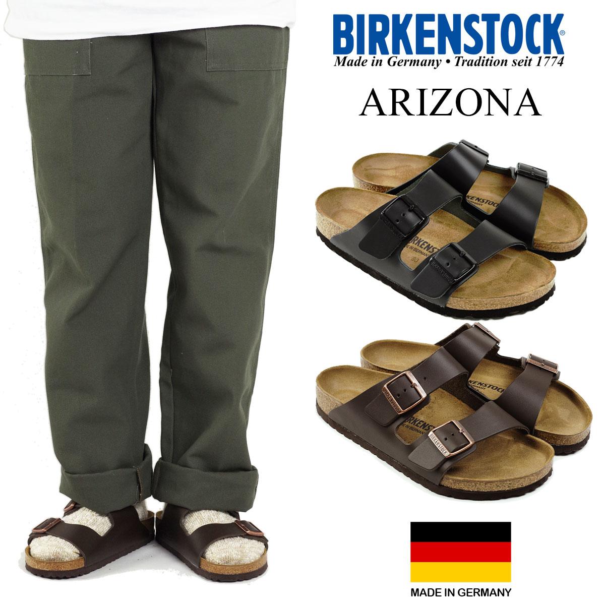 ビルケンシュトック BIRKENSTOCK アリゾナ (メンズ/レディース ARIZONA ビルケン 幅広 普通幅 サンダル)