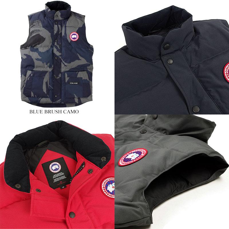 Canadian goose CANADA GOOSE free style crew vest (FREESTYLE CREW VEST down vest men)