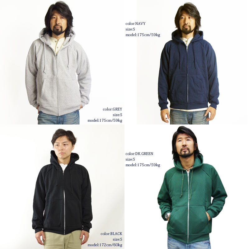 Camber CAMBER 531 ジップフードパーカー gray MADE IN USA ( ZIPPER HOODED CHILL BUSTER フードスウェット )