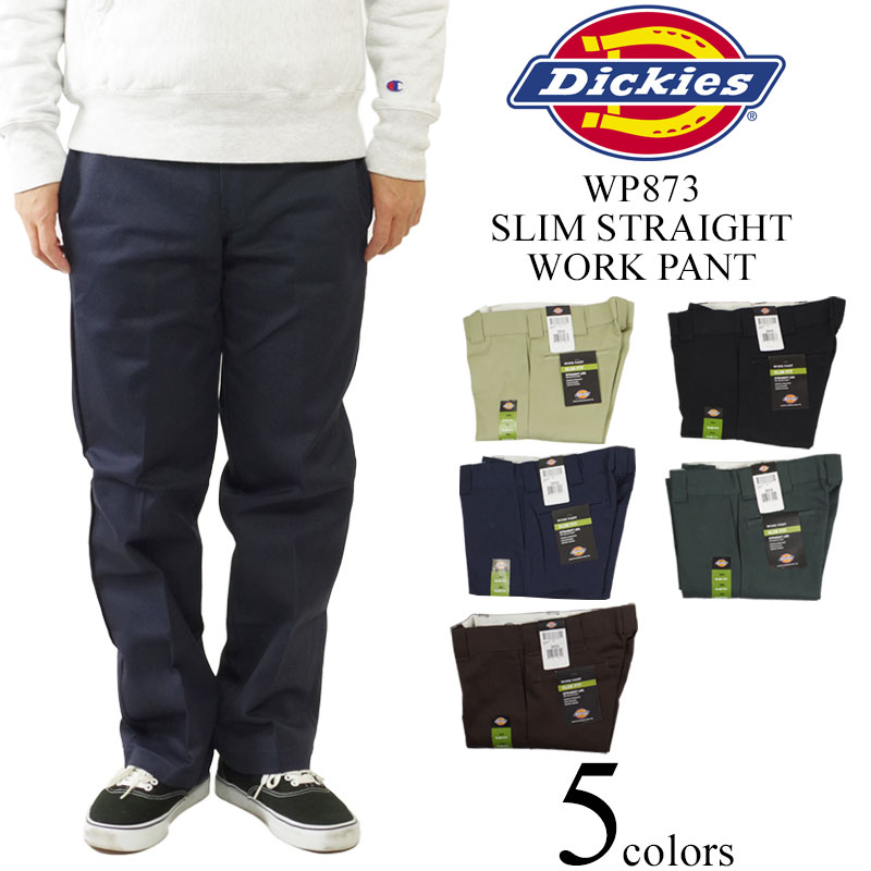 13ade48edc6 Dickies Dickies WP873 slim straight work Pant khaki ( SLIM STRAIGHT WORK  PANT chinos )