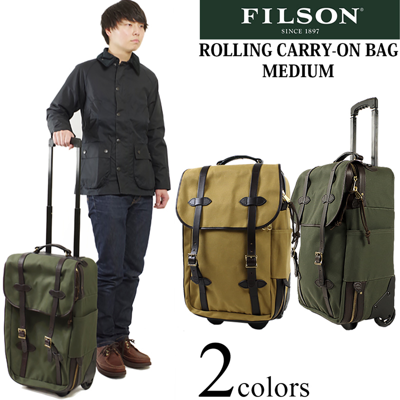 Filson Rolling Carry On Bag Medium Rollin Suitcase Made In The United States
