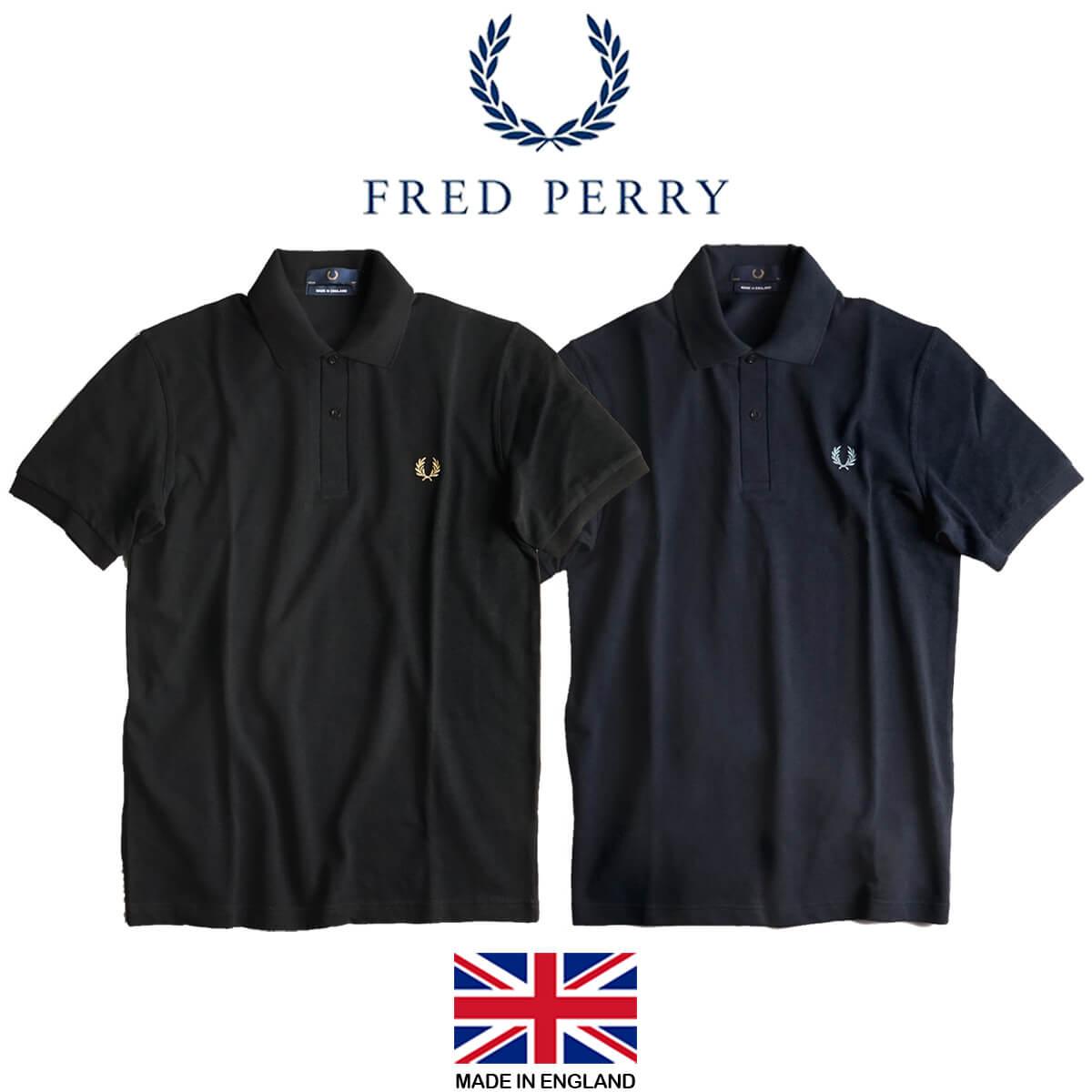 フレッドペリー FRED PERRY M3 オリジナル フレッドペリーシャツ 半袖 ポロシャツ(メンズ 36-46サイズ THE ORIGINAL SHIRT 英国製 イングランド製 鹿の子)
